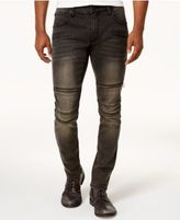 INC International Concepts Men's Horizon Black Wash Skinny Jeans
