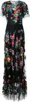 Zuhair Murad - embroidered maxi dress - women - Silk/Polyamide - 42