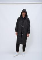 Ami Alexandre Mattiussi black raincoat
