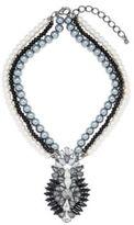 Cara Multi-Strand Pearl Pendant Necklace