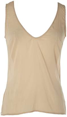 Chanel \N Beige Silk Tops