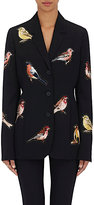 Stella McCartney WOMEN'S EMBROIDERED WOOL THREE-BUTTON JACKET