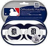 Baby Fanatic Detroit Tigers Pacifier - 2 Pack, Catalog Category: NLB