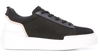 Buscemi Textured Lace-Up Sneakers