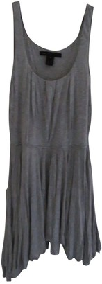 Marc by Marc Jacobs Grey Cotton Dress for Women