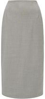 Jigsaw Melange Stretch Column Skirt, Grey