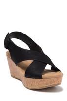 Dream Girl Cork Wedge Sandal