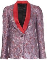 Christian Pellizzari metallic smoking jacket