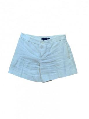 Ralph Lauren White Cotton Shorts for Women