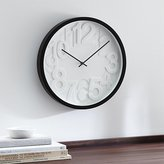 "Crate & Barrel Reece 16"" Wall Clock"