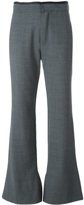 Erika Cavallini 'Olive' flared trousers