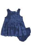 Splendid Infant Girl's Metallic Stripe Tie Dye Sundress