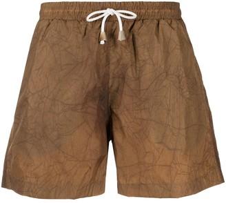 Nanushka Roxi tie-dye swim short