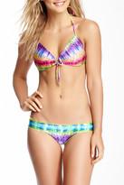 Luli Fama Groovy Baby Push-Up Bandeau Bikini Top