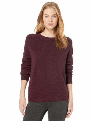 Daily Ritual Cozy Boucle Crewneck Pullover Sweater Cloud Heather XS