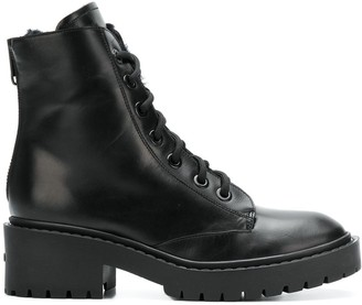 Kenzo lace-up ankle boots