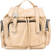Sonia By Sonia Rykiel - double straps mini backpack - women - Cotton/Leather - One Size