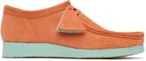 Thumbnail for your product : Clarks Originals Orange & Blue Suede Wallabee Derbys