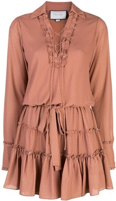 Alexis Rozalyn polka dot dress