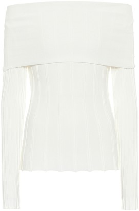Agnona Off-the-shoulder sweater
