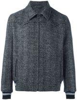 Lanvin classic collar bomber jacket - men - Acrylic/Nylon/Polyester/Virgin Wool - 48