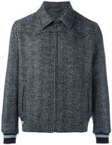 Lanvin classic collar bomber jacket