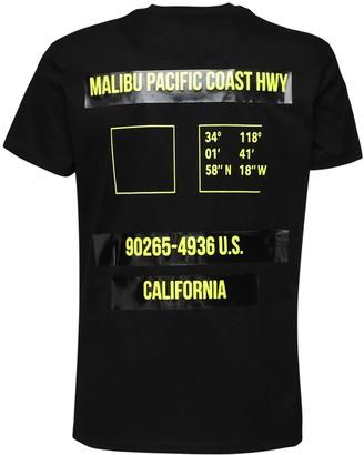Premium Mood Denim Coast Printed Cotton T-Shirt