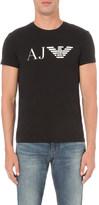 Armani Jeans Logo print cotton-jersey t-shirt
