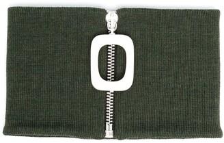 J.W.Anderson Square-Zip Wool Scarf