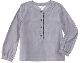 Brooks Brothers Girls' Blue Gingham Top.