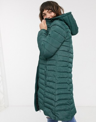 B.young longline padded coat