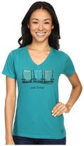 Life is Good We Time Chairs Crusher Tee