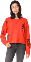 Wildfox Couture Alchemy Icons Gate Sweater