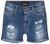 Little Remix Blue Moon Medium Denim Destroyed Shorts