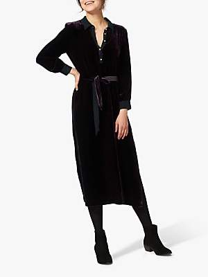 Brora Velvet Shirt Dress