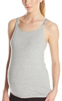 Leading Lady Women's Nursing Camisole with Built-In Bra