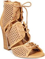 Call it SPRING Ciracia Lace-Up Block-Heel Sandals