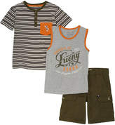 Lucky Brand Boys' 3Pc Set
