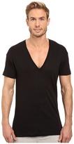 2xist 2IST - Pima Slim Fit Deep V-Neck T-Shirt Men's T Shirt