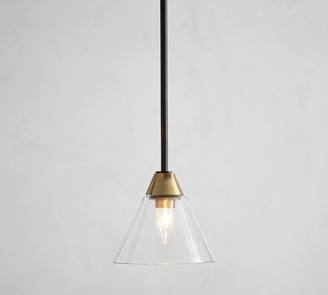 Pottery Barn Claremont Flared Glass Pendant