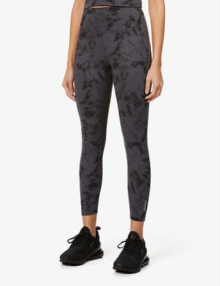 Lorna Jane No Dig tie dye-print stretch-jersey leggings