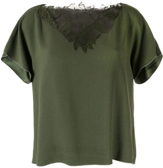 Dion Lee Lace Applique Top