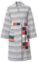 Sonia Rykiel Rue De Nevers Blanc Striped Bath Robe