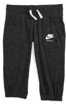 Nike Girl's 'Vintage' Capri Sweatpants