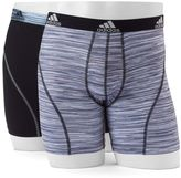 adidas Men's Climalite Sport 2-Pack Boxer Briefs