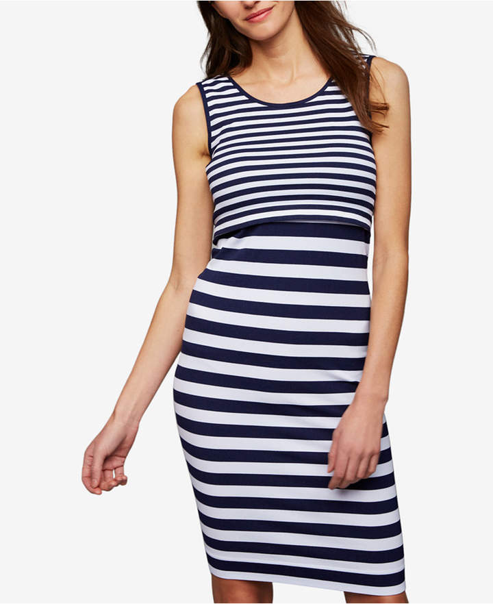 Ripe Maternity Tiered Nursing Dress