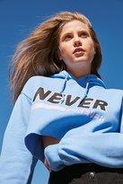 BDG Never Forever Cropped Hoodie Sweatshirt
