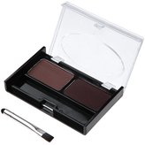 Awtang 2 Colours Makeup Eyebrow Powder Waterproof Palette Kit with Brush Beauty Cosmetics