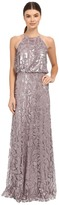 Donna Morgan Halter Sequin Women's Dress