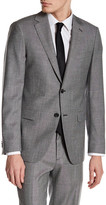 Theory Norwood Notch Lapel Two Button Wool Blazer